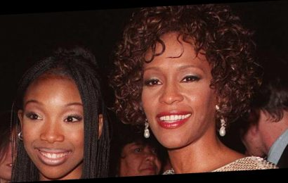 Brandy Recalls Having 'So Much Fun' With Whitney Houston On The Set Of Cinderella