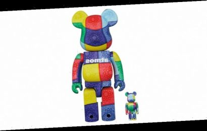 atmos and Medicom Toy's Latest BE@RBRICKs Offer Bold Bandanna Prints