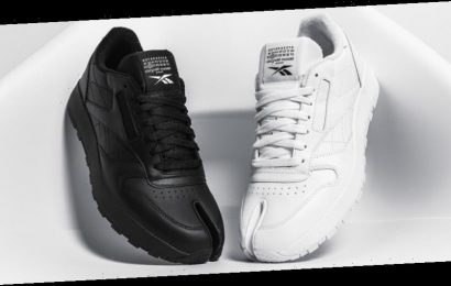 Closer Looks: Maison Margiela x Reebok Classic Leather Tabi