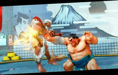 """'Street Fighter II' Officially Removes """"Rising Sun"""" From E. Honda's Stage"""