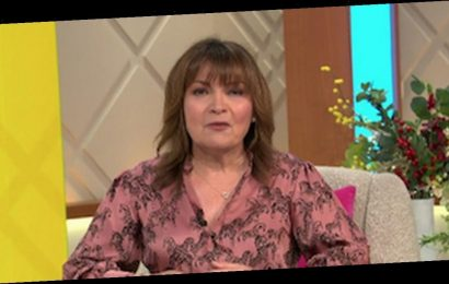 Lorraine Kelly baffles fans after confirming her real name while getting vaccine