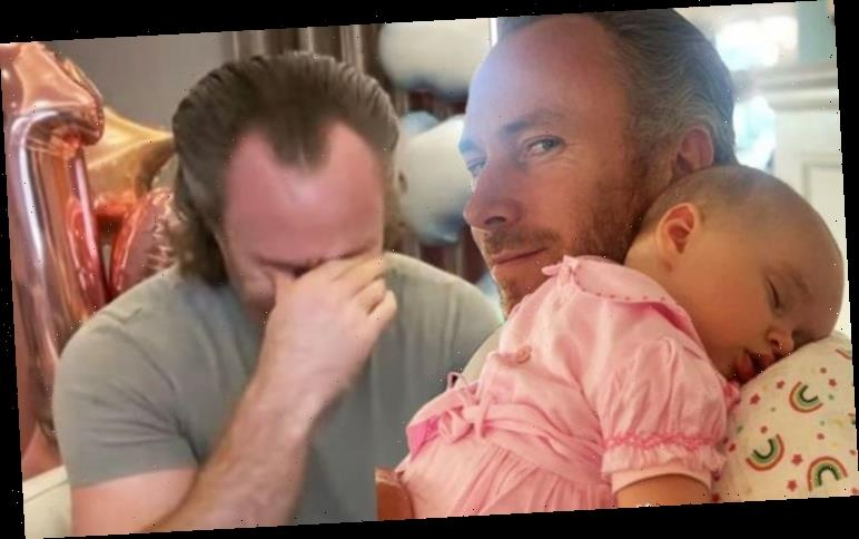 James Jordan shares worries about baby daughter's 'head shaking' as he asks for advice