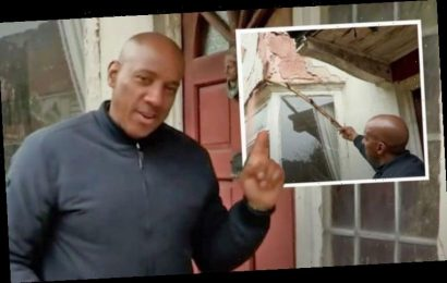 Homes Under the Hammer's Dion Dublin breaks house before entering