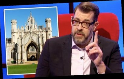 Richard Osman 'blagged' way through Cambridge interview 'to fill state school quota'