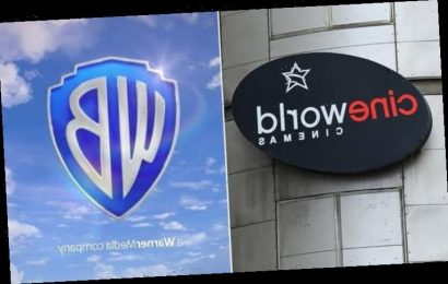 Cineworld cinemas to reopen in UK this May with new deal for Warner Bros movies
