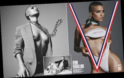 Pose star Indya Moore covers the new V Magazine