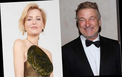 Alec Baldwin amused by talk of Gillian Anderson switching between accents