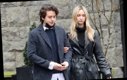 Cole Sprouse takes new gal pal on walking tour of Vancouver
