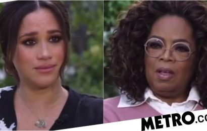 Awkward Meghan and Oprah moment revealed in parody video