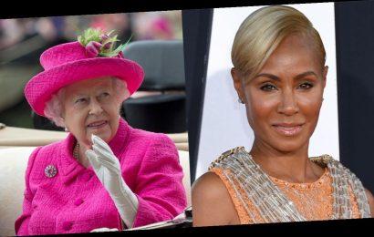 Jada Pinkett Smith jokingly shares picture of Queen Elizabeth on 'Red Table Talk'