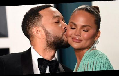 Why John Legend and Chrissy Teigen's reaction to his Grammy win has gone viral
