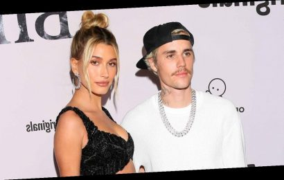 Justin Bieber's Wife Hailey Surprises Him at Album Release Party