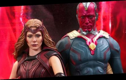 Hot Toys Recruits Scarlet Witch and Vision From 'WandaVision'