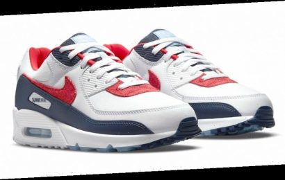 """Nike Prepares for  the Fourth of July With """"USA Denim"""" Air Max 90"""