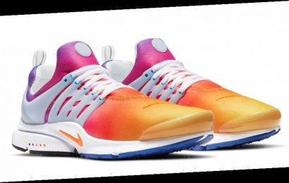 """Nike Air Presto """"Siren Red"""" Features a Sunrise-to-Sunset Gradient"""