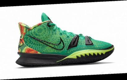 """Kyrie Irving's Nike Kyrie 7 Surfaces With """"Weatherman"""" Inspired Makeover"""