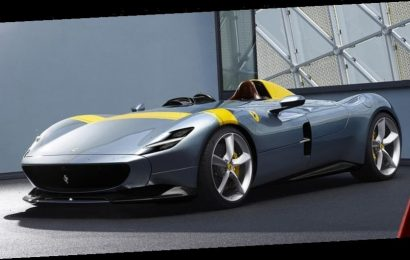 The Golden Ratio Says Ferrari's Monza SP1 Is the World's Most Beautiful Car
