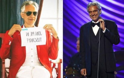 Andrea Bocelli: Competition to meet the Italian tenor with VIP access to stunning concert