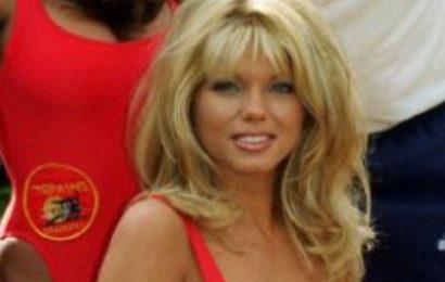 Baywatch beauty Donna D'Errico, 53, shows off age-defying looks in tiny bikini