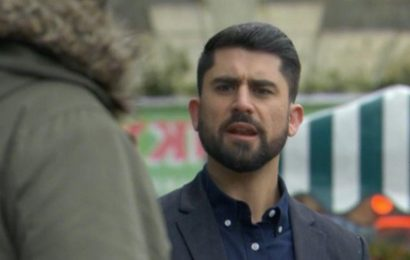 EastEnders fans 'figure out' Mr P's identity after mysterious arrival in Walford