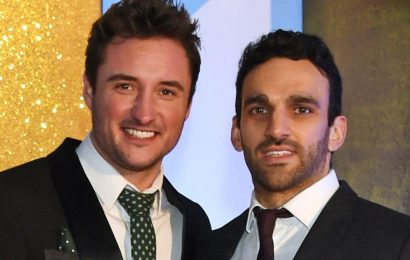 EastEnders star James Bye pays emotional tribute to co-star Davood Ghadami as Kush Khazemi is killed on BBC soap