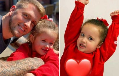 Emotional Dan Osborne is a proud dad as his youngest child Mia starts pre-school and he says he's 'truly blessed'