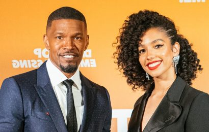 Jamie Foxx & Daughter Corinne Attend the 'Dad Stop Embarrassing Me' Virtual Premiere
