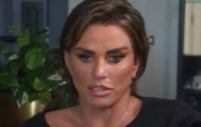 Katie Price admits plastic surgery regret as she says she 'hates' how eyes look