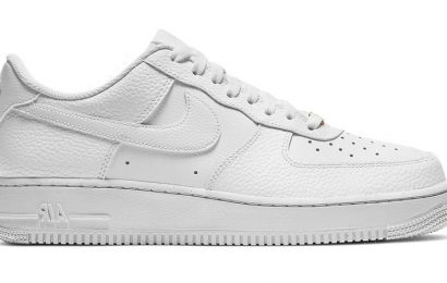 Nike Gives the Iconic All-White Air Force 1 Low a Twist