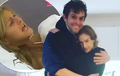 Nikki Grahame hugs Big Brother ex Pete Bennett weeks before her death
