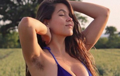 OnlyFans model defies trolls to make £1,000s from men who love her armpit hair