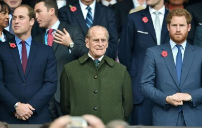 Prince William & Harry release separate statements memorializing their grandpa