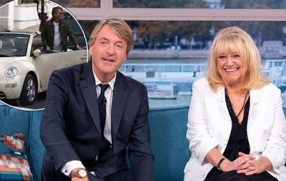 Richard Madeley came 'terrifyingly close' to being shot by US cop