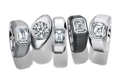 Tiffany & Co. Now Makes Diamond Engagement Rings for Men
