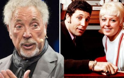 Tom Jones talks late wife's warning 'if he made a move' as he slams 'open marriage' claims