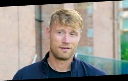 Freddie Flintoff accidentally drank co-star's urine during A League Of Their Own