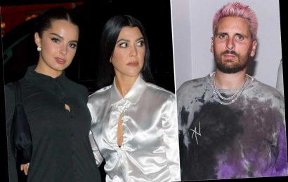 Scott Disick: 'It's OK' if Kourtney Kardashian, Addison Rae hooked up