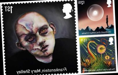 Royal Mail's latest stamps celebrate the best of British sci-fi novels
