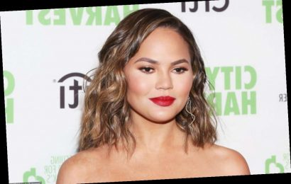 Chrissy Teigen Debuts New Pastel Pink Hair in NSFW Picture