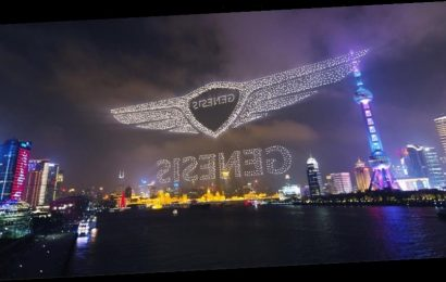 Hyundai-Owned Automaker Genesis Breaks World Record for Largest Drone Performance