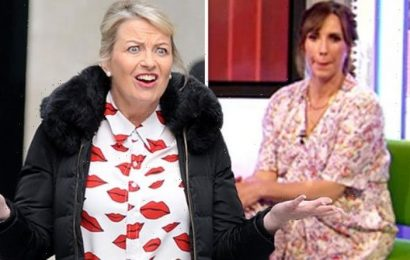 Alex Jones quips Carol Kirkwood 'declined' The One Show after co-host's snub 'Won't help'