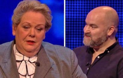 Anne Hegerty calls The Chase player out for jibe about her quizzing ability 'You said it!'