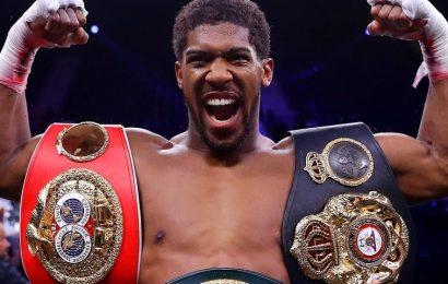 Anthony Joshua Set To Fight Tyson Fury in Summer 2021