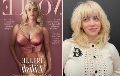 Billie Eilish wore over $80k worth of diamonds on British Vogue cover while showing off curves in stunning photos
