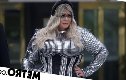 Brits 2021: Gemma Collins leaves bash in ripped dress and clutching champagne
