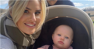 Danielle Armstrong marks daughter Orla's first birthday with sweet video montage