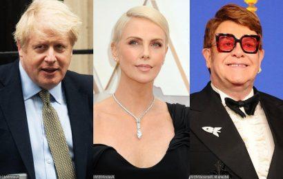 Elton John and Charlize Theron Urges Boris Johnson to Address New AIDS Emergency at G7 Summit