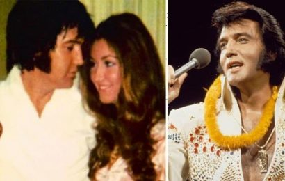 Elvis Presley's ex-girlfriend Linda Thompson shares karate and tour pictures with The King