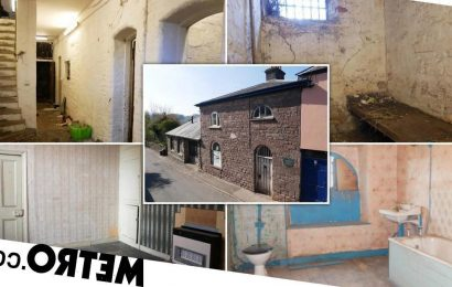 Historic prison now a three-bedroom home on sale for £200k
