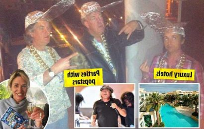 Inside Top Gear's wild parties with girl-throwing contests, games flown in by helicopters and hangover jabs